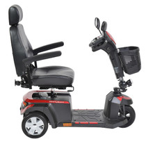 "Drive Medical VENTURA318CS Ventura Power Mobility Scooter, 3-Wheel, 18"" Captains Seat"