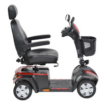 "Drive Medical VENTURA418FS Ventura Power Mobility Scooter, 4 Wheel, 18"" Folding Seat"