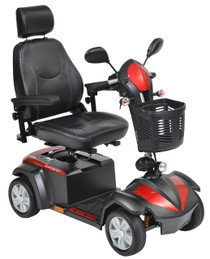 "Drive VENTURA420CS Ventura Power Mobility Scooter, 4 Wheel, 20"" Captains Seat"