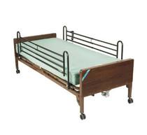 Drive 15030BV-PKG-2Delta Ultra Light Semi Electric Bed with Full Rails and Foam Mattress (15030BV-PKG-2)