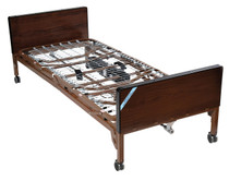 Drive 15033BV-HR Delta Ultra Light Full Electric Bed with Half Rails (15033BV-HR)