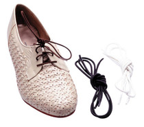 Drive RTL2052 Elastic Shoe and Sneaker Laces, White, 2 Pairs