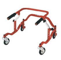 Drive Pediatric TYKE 1200 Posterior Safety Rollers,Red (PE TYKE 1200) (Drive PE TYKE 1200)