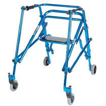 Drive Medical KA4200S Wenzelite Nimbo Lightweight Gait Trainer with Seat