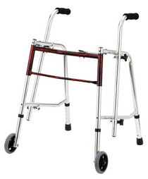 Drive Medical 10219FRD-1 GLIDER WALKER, STANDARD, FLAME RED - Discontinued (Drive Medical 10219FRD-1)