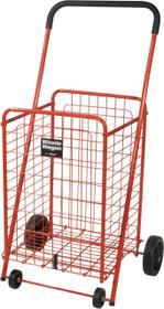 Drive 605R Winnie Wagon All Purpose Shopping Utility Cart, Red