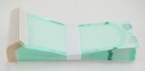 "Healthmark Industries SS4 Sterilization Pouch Steriking® EO Gas / Steam 5"" x 10.5"" Transparent / White Self Seal Tyvek® Material, BX/200"