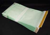 """Healthmark Industries SS5 Pouch Sterilization Pouch Steriking® EO Gas / Steam 8"""" x 14"""" Transparent / White Self Seal Tyvek® Material BX/200"""