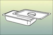 """Almedic 90-3040 Stainless Steel Trays 10"""" x14"""""""