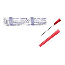 "BD 305180 blunt fill needle 18G x 1.5"", 100/sp, Case of 8"