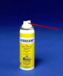ANESTHETIC TOPICAL BEUTLICH HURRICAINE SPRAY WILD CHERRY 2oz (069-0679-60)