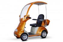 eWheels EW-54 4-Wheel Power Scooter/ Mini Golf Cart (EW-54) Orange - Shipping included