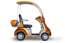 eWheels EW-54 4-Wheel Power Scooter/ Mini Golf Cart (EW-54) Orange - Shipping included