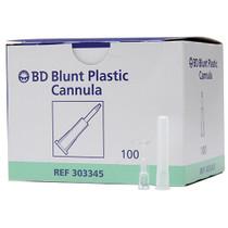 BD 303345 INTERLINK CANNULA BLUNT IV STERILE PLASTIC BX/100
