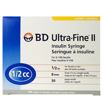 BD 320468 Ultra-Fine II Syringe and Needle
