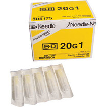 """BD 305175 general use sterile hypodermic needle 20 G x 1"""""""