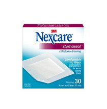 "Nexcare Stomaseal Colostomy Dressing 4""x4"" BX/30 (3M-1507)"
