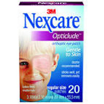 "3M-1539 Eye Pad Non-Sterile 2-1/4"" X 3-1/4"" ADHESIVE NEXCARE BX/20"