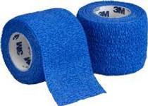 "3M-1581B Coban Self-Adherent Wrap Blue 1"" x 5YD BX/30 (3M-1581B)"