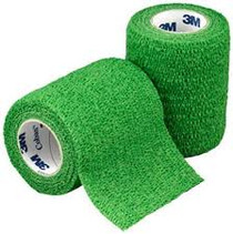 "3M-1583G Coban Self-Adherent Wrap GREEN 3""x5YD BX/24 (3M-1583G)"