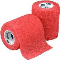 "3M-1583R Coban Self-Adherent Wrap Red 3"" x5 Yards BX/24 (3M-1583R) (3M-1583R)"