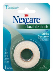 """3M-791 First Aid Tape CARDED CLOTH 1"""" X 10 YARDS CS/24"""