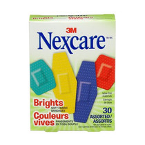 BANDAGES COMFORT BRIGHT ASSORTED BX/30