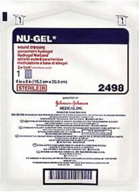 Systagenix 2498 Nu-Gel Wound Dressing 15cm x 20cm 5/bx
