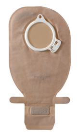 """ASSURA OPAQUE Drainable Pouch with EASICLOSE, FLANGE SIZE 2"""" (50mm) BX/10 (COL-13925)"""