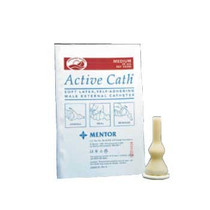 8300 ACTIVE CATH LATEX SELF-ADHERING MALE EXTERNAL CATHETER, SIZE 28MM MEDIUM BX/100 (COL-506200)