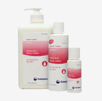 Moisturizing hand and body lotion with natural vitamin E