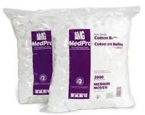 AMG MEDPRO Non-Sterile COTTON BALLS, Large BG/1000 (019-055)