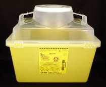 BD 300443 Sharps Collector 13.2L Open cap