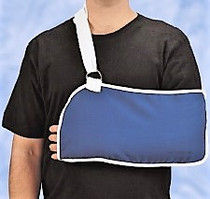 "DeRoyal 8004-05 Sling Arm Specialty w/foam Pad, Large, 9"" x 20"" pouch"