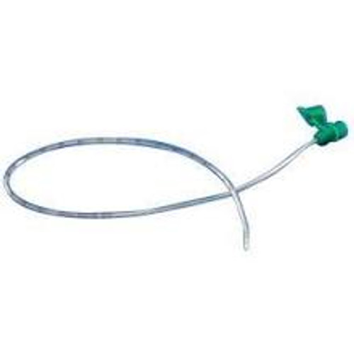 "CURITY NASOGASTRIC PVC FEEDING TUBE, SIZE 8 (2.7MM) X 15"" (38CM) LENGTH CS/50 (MDT-155722)"