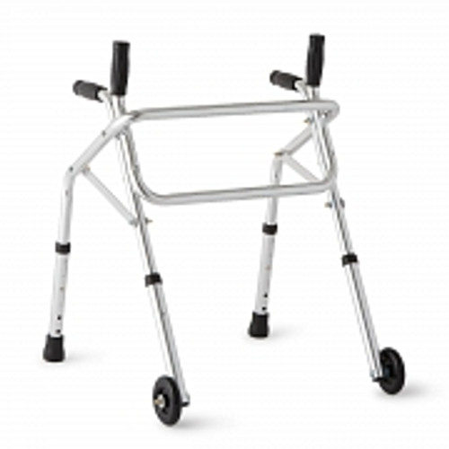 Incredible Medline G07755 Guardian Adult Folding Walker Single Release 350Lb Lightweight Gmtry Best Dining Table And Chair Ideas Images Gmtryco