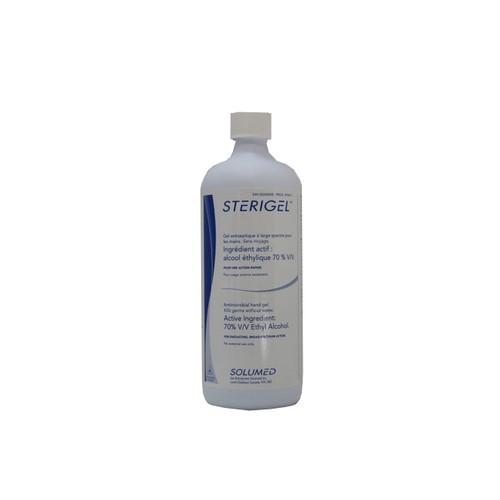 3M-10411 STERIGEL WATERLESS ANTISEPTIC HAND GEL, 70% ETHYL ALCOHOL, 500ML Case of 12 (3M-10411-CS12)