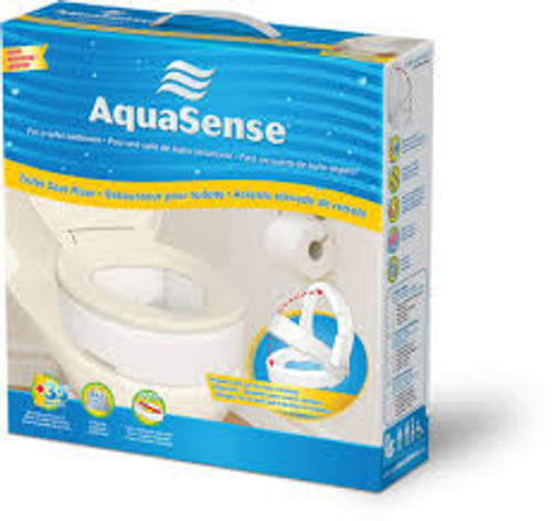 Superb Aquasense 770 630 Toilet Seat Risers With Hinge Cjindustries Chair Design For Home Cjindustriesco