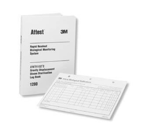 3M-1266 LOG BOOK ATTEST BILINGUAL