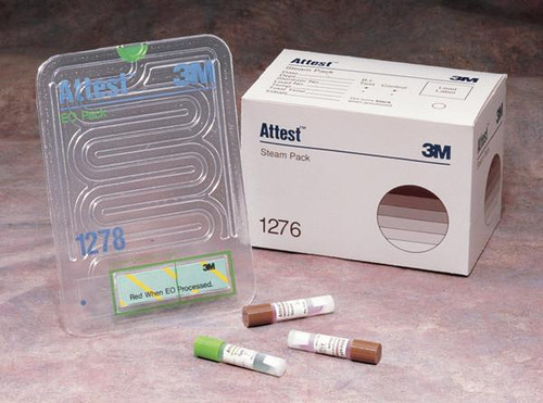 3M-1276 STEAM PACK ATTEST PRE-ASMB BX/25 (NON-RETURNABLE) (3M-1276)
