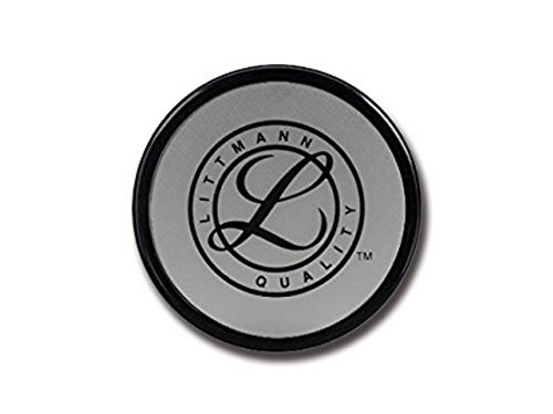 3M Littmann Tunable Diaphragm and Rim Assembly for Cardiology III, Paediatric Side, Black rim