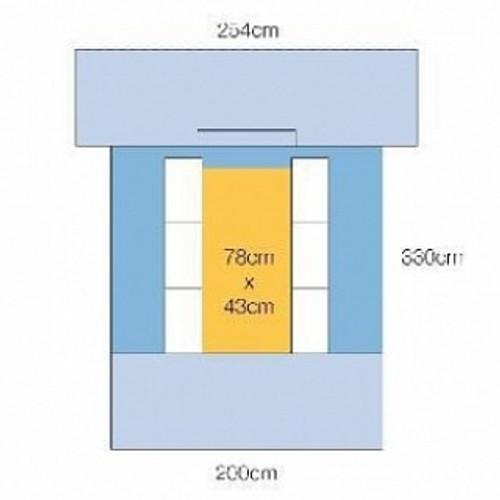 3M 6682 Steri-Drape™ Cardio/Chest Drape with Ioban™ 2 Incise Film