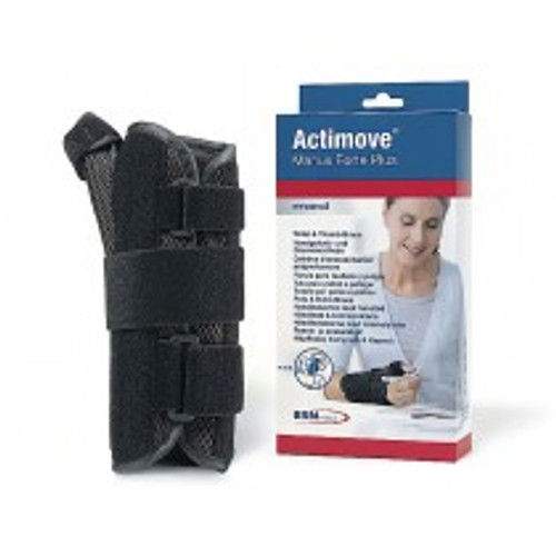 BSN-7349634 ACTIMOVE MANUS FORTE PLUS WRIST THUMB BRACE SM-MD, LEFT, BLACK