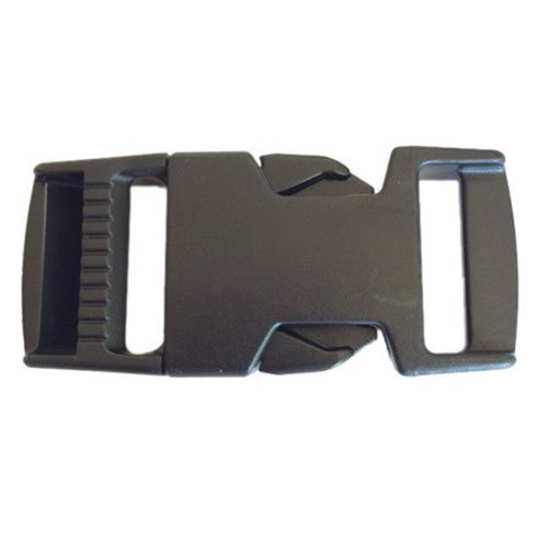 "1"" Fastex SR Buckle Black (4920)"