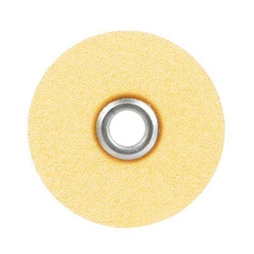 "Sof-Lex Extra-Thin Contouring and Polishing Pop-On Disc Refill, Fine Grit, 1/2"" Diameter, Light Orange"