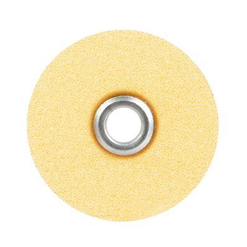"Sof-Lex Extra-Thin Contouring and Polishing Pop-On Disc Refill, Fine Grit, 1/2"" Diameter, Light Orange"