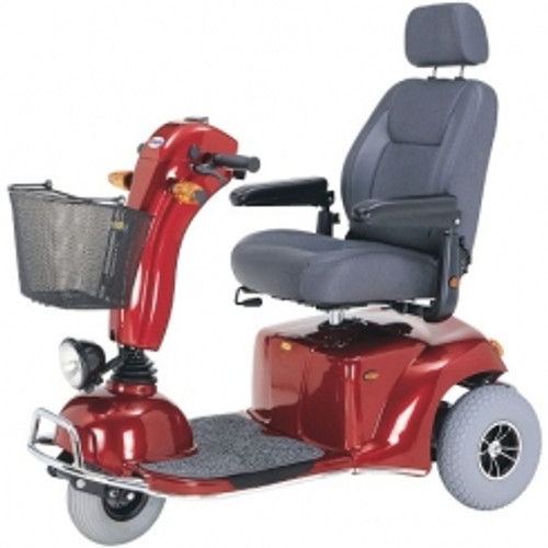 Merits S331 Pioneer 9 DLX 3 Wheel Bariatric Scooter on