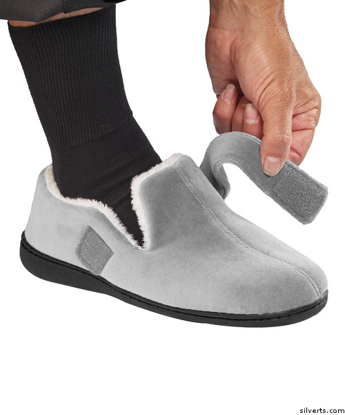 6acdd7a1e3c Silvert s 510500202 Mens House Slippers Memory Foam Slippers For Men
