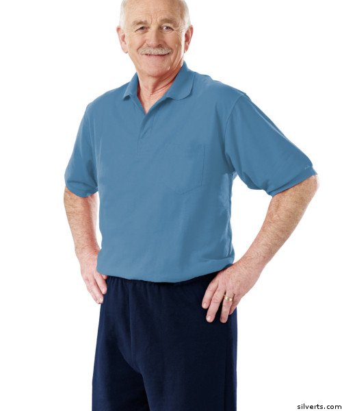 Buy Online Silverts 508801403 Mens Alzheimers Antistrip Jumpsuit