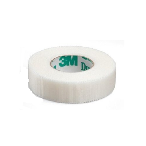 3M 1538-1/2 TAPE DURAPORE 1/2IN X 10YD BX/24